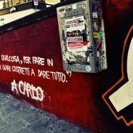 """""""Ognuno di noi deve dare qualcosa, per fare in modo che alcuni di noi non siano costretti a dare tutto"""" a Carlo"""