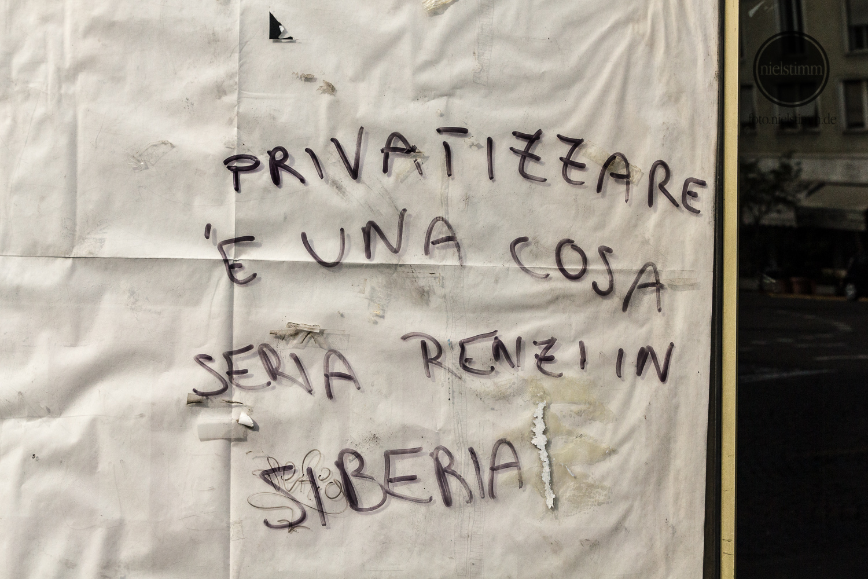 Privatizzare è una cosa seria